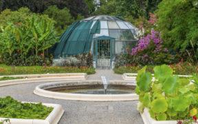 botanische Garten in Zagreb