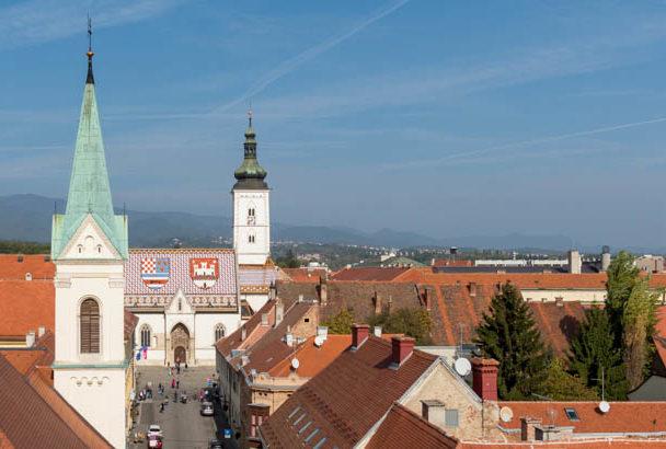 Kirche St. Markus in Zagreb
