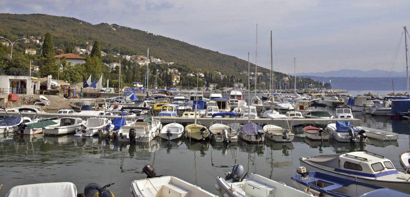 Yachthafen von Ičići
