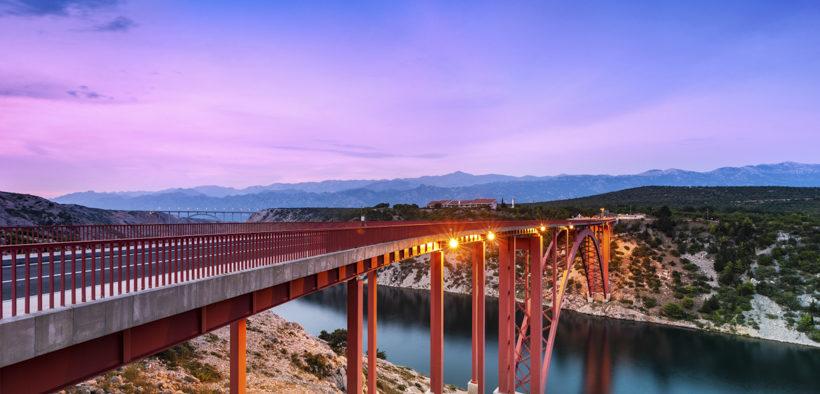 Maslenica-Brücke