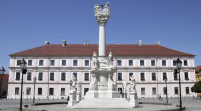 Platz der Heiligen Dreifaltigkeit in Osijek