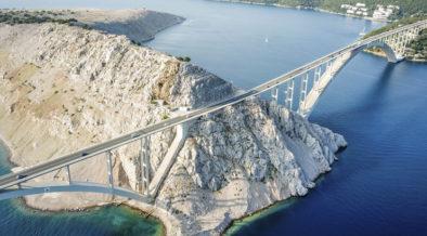 Kvarner Bucht und ihre Brücken