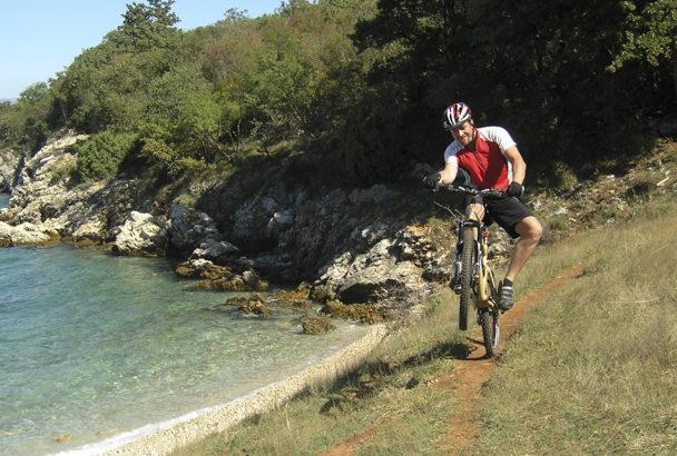 Radfahren auf Krk