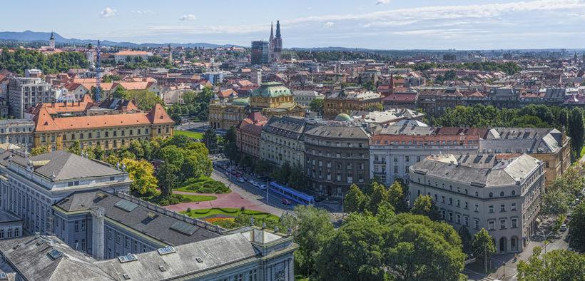 Jelačić Platz in Zagreb