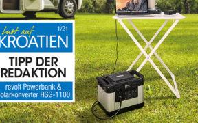 revolt Powerbank & Solar-Konverter HSG-1100
