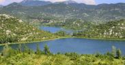 Kanu fahren auf den Baćina Seen
