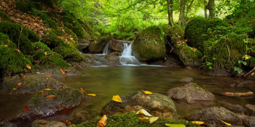 Wasserfälle im Papuk Naturpark