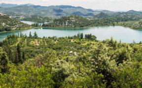 Radfahren rund um die Baćina-Seen