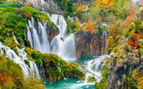 Wasserfall-Highlights der Plitvicer Seen