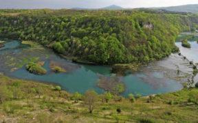 Eine Wanderung zur Quelle des Flusses Kupa
